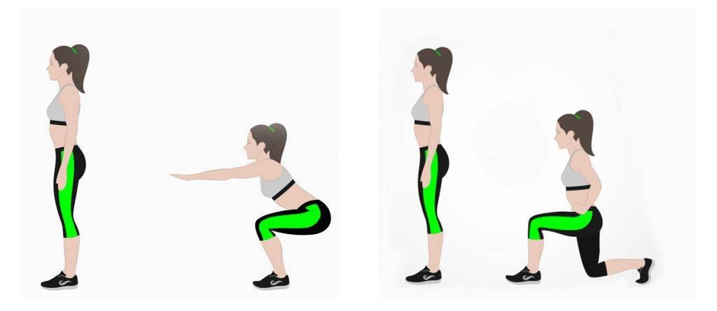 Knieversterkende oefeningen