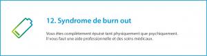 Syndrome de burn out