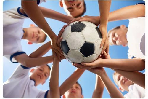 Sportende kinderen blessures