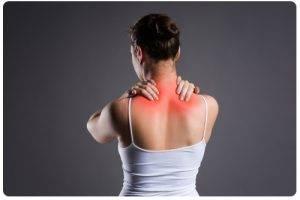 Pijn tussen schouders