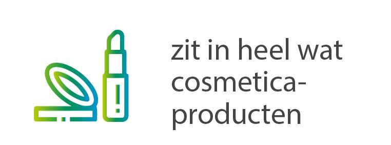 Zit in cosmetica producten